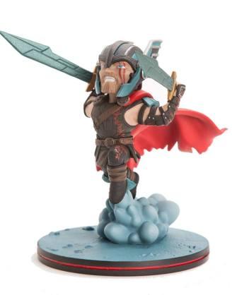 x_mvl-0023 Marvel Comics Thor Ragnarok Q-Fig Diorama - Thor 12 cm