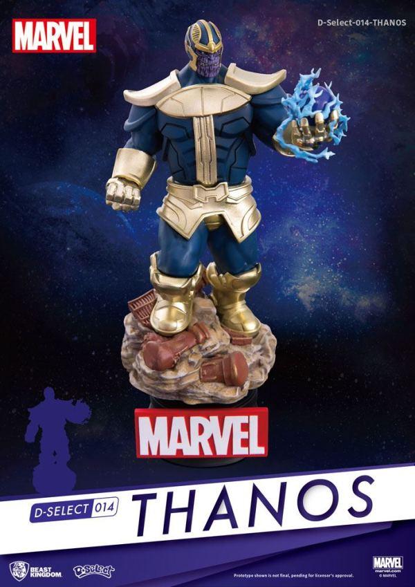 x_bkdds-014 Marvel - D-Select PVC Diorama Thanos 15 cm