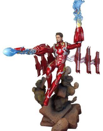 x_diamjan192548 Avengers Infinity War Marvel Gallery PVC Szobor - Iron Man MK50 Unmasked 23 cm