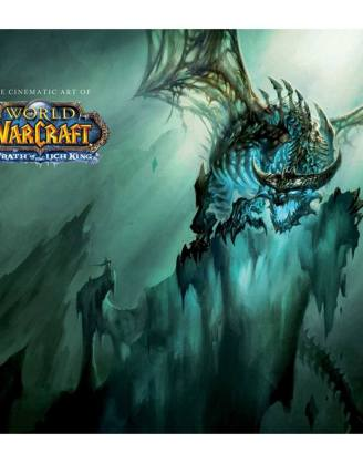 x_isc87208 World of Warcraft Art Book - The Cinematic Art of World of Warcraft