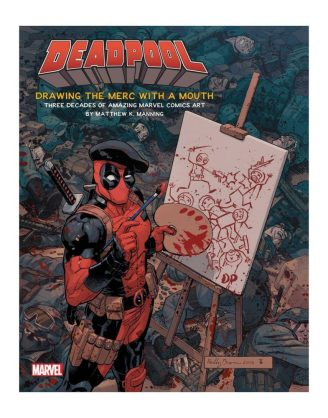 x_isc87918 Deadpool Art Book Drawing the Merc with a Mouth