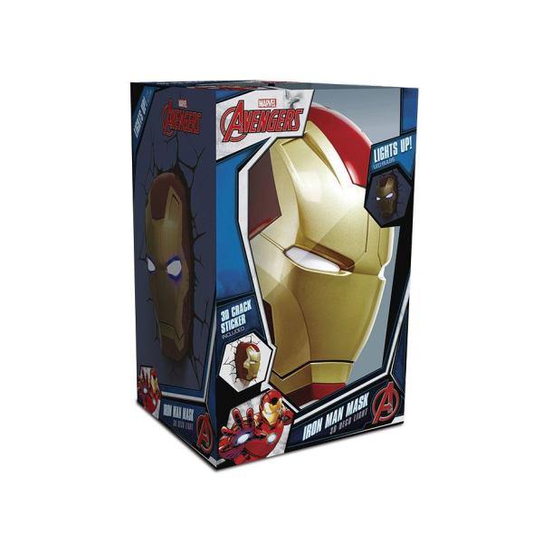 x_3dl49465_a Marvel 3D LED Light Iron Man