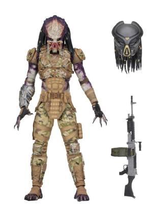 x_neca51574 Predator 2018 Deluxe Akciófigura - Emmisary Predator #1 20 cm