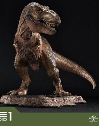x_p1spcfjp-01 Jurassic Park Prime Collectibles PVC Szobor - 1/38 Tyrannosaurus-Rex 18 cm