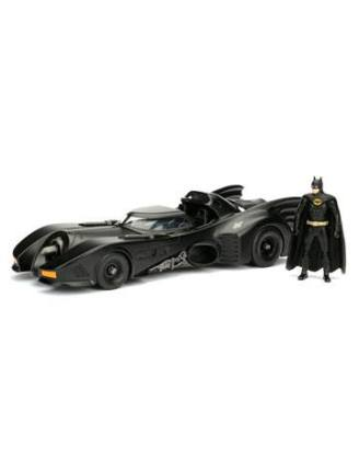 d_jada98260 Batman Metals Diecast Model 1/24 - 1989 Batmobile with figure