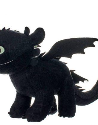 x_joy12433 How to Train Your Dragon 3 plüss - Toothless Glow In The Dark 32 cm