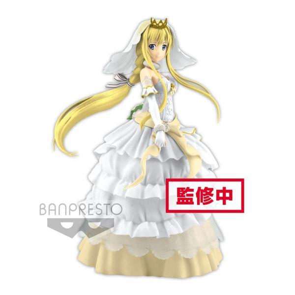 x_banp82640 Sword Art Online Code Register EXQ PVC Szobor - Wedding Alice 21 cm