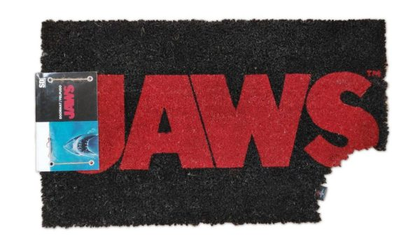 x_sdtuni22297 Jaws lábtörlő - Logo 43 x 72 cm
