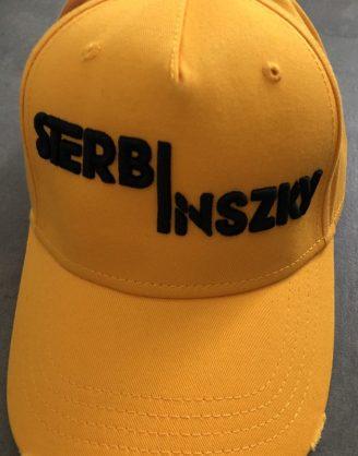 IMG_3205 Sterbinszky - Sárga varrott sapka