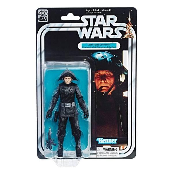 x_hasc1688eu41_e Star Wars Black Series 40th Anniversary Akciófigura - Death Squad Commander (Episode IV) 15 cm