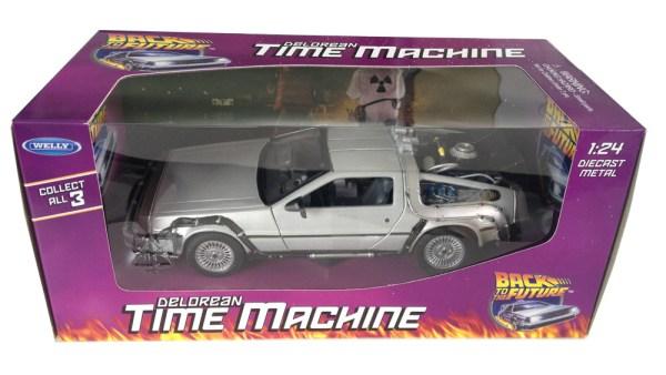 xwell3276984 Back to the Future Diecast Model 1/24 - ´81 DeLorean LK Coupe