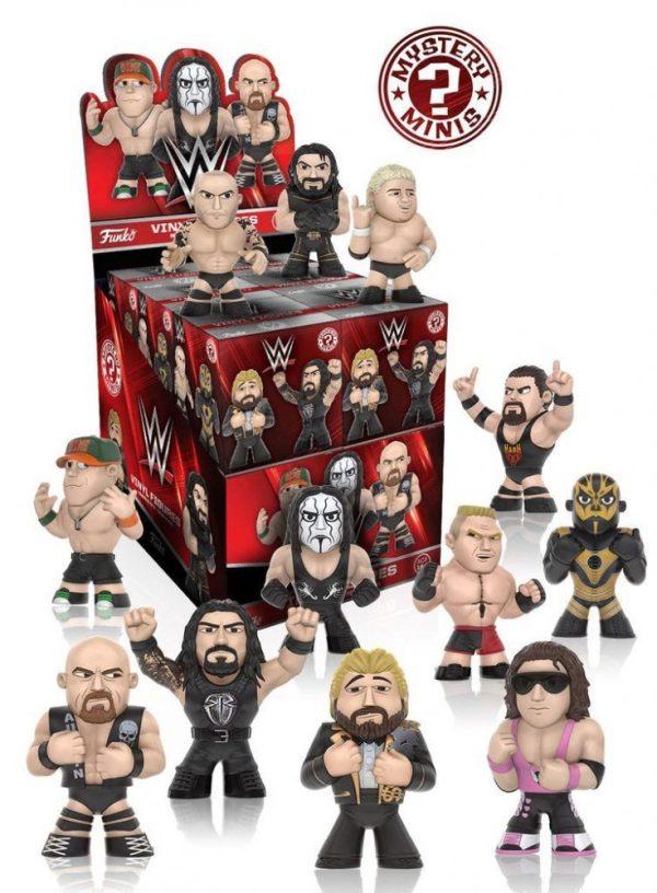 x_fk7813 WWE Mystery Minis Vinyl Mini Figura 6 cm