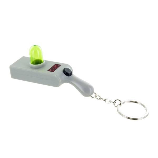 x_pp4847rm Rick & Morty - Portal Gun világítós Kulcstartó