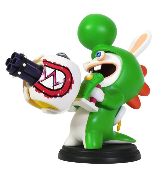 x_ubi300093021 Mario + Rabbids Kingdom Battle PVC Figura - Rabbid-Yoshi 16 cm