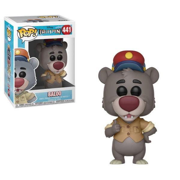x_fk32084 TaleSpin Funko Disney POP! figura - Baloo 9 cm