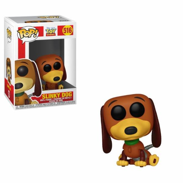 x_fk37010 Toy Story POP! Disney Vinyl Figure Slinky Dog 9 cm
