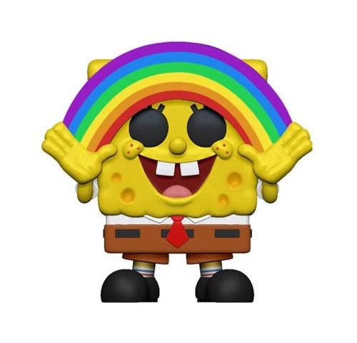 x_fk39552 SpongeBob SquarePants Funko POP! Figura - SpongeBob Rainbow 9 cm