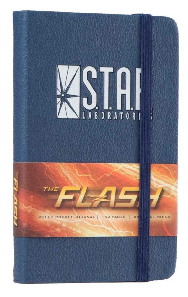 x_isc83036 DC Comics Pocket Journal Jegyzetfüzet - The Flash: S.T.A.R. Labs
