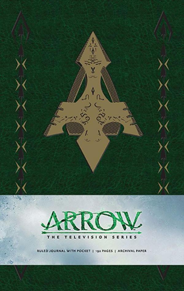 x_isc87728 Arrow Hardcover Jegyzetfüzet - Ruled Journal Logo
