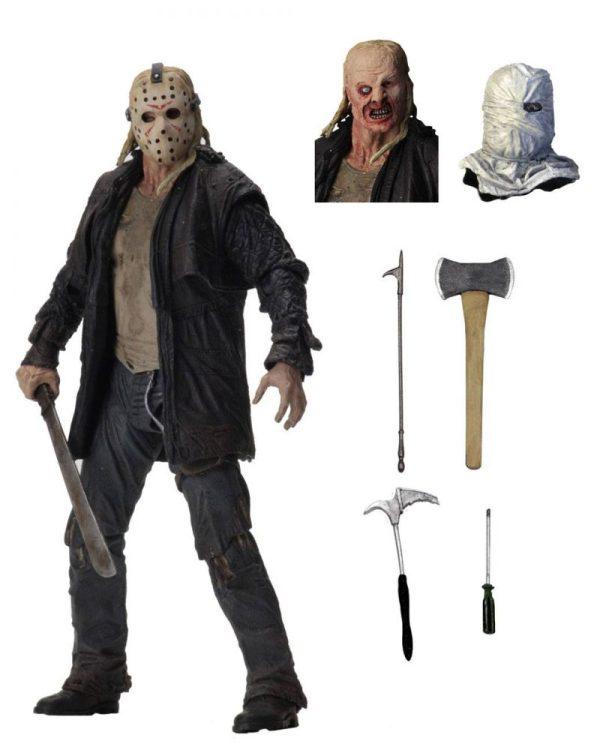 x_neca39720 Friday the 13th 2009 akciófigura - Ultimate Jason 18 cm Friday the 13th 2009 Action Figure Ultimate Jason 18 cm