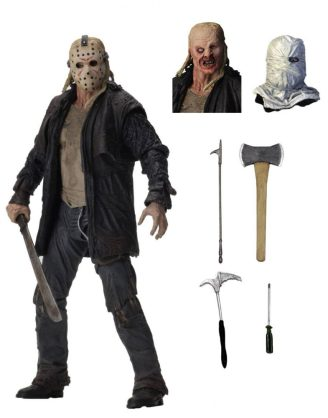 x_neca39720 Friday the 13th 2009 akciófigura - Ultimate Jason 18 cm Friday the 13th 2009 Action Figure Ultimate Jason 18 cm