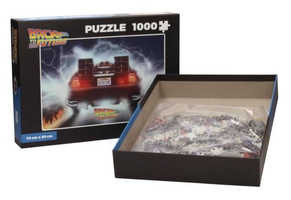 x_sdtuni22323 Back to the Future Puzzle - Outatime 1000 db-os
