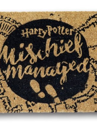 x_sdtwrn22193 Harry Potter lábtörlő - Mischief Managed 43 x 72 cm