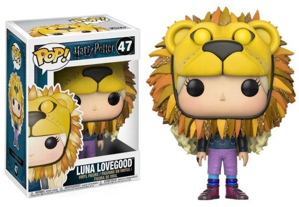 x_fk14944 Harry Potter Funko POP! Figura - Luna Lovegood with Lion Head 9 cm