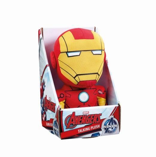 x_ugtavg01838 Marvel Beszélő Plüss figura - Iron Man 23 cm *English Version*