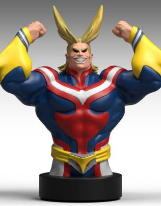x_bbsmmha01 My Hero Academia persely - All Might 25 cm