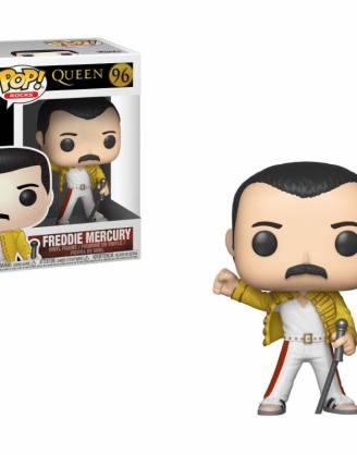 x_fk33732 Queen Funko POP! Rocks Figura - Freddie Mercury Wembley 1986 9 cm