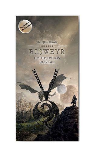 x_fntk-els-12 Elder Scrolls Online: Elswey Limited Edition nyaklánc