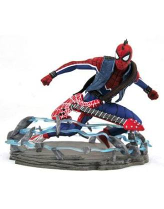 d_diammay189413 Spider-Man 2018 Marvel Video Game Gallery PVC Szobor - Spider-Punk Exclusive 18 cm