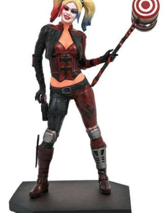 d_diamnov192336 Injustice 2 DC Video Game Gallery PVC Szobor - Harley Quinn 23 cm