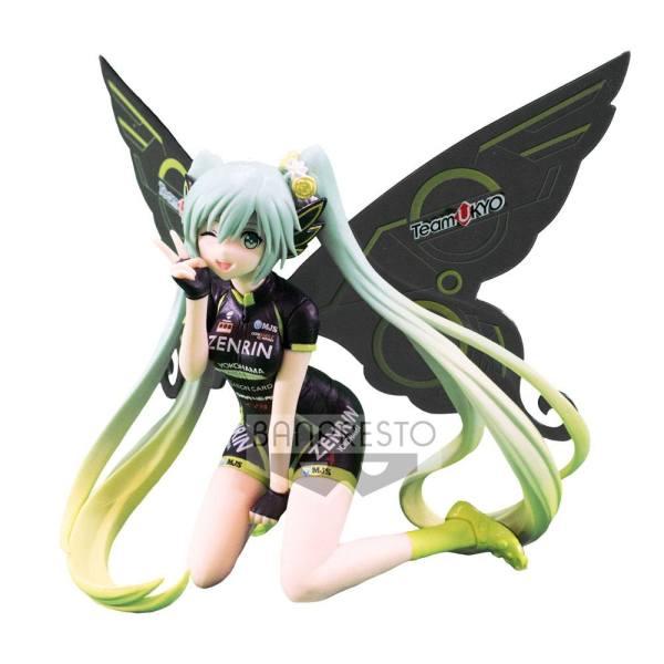 x_banp27067 Racing Miku SQ PVC Szobor - Hatsune Miku 2017 Team UKYO Cheering Ver. 13 cm