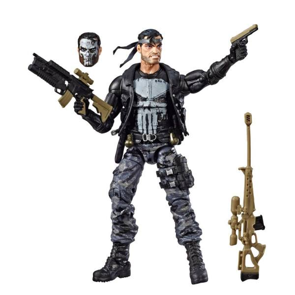 x_hase8610 Marvel Legends 80. Évfordulós Akciófigura - Punisher 15 cm