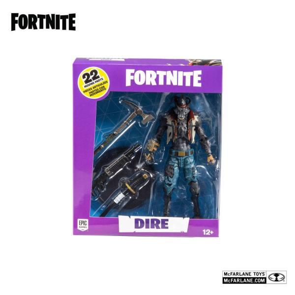 x_mcf10722-7 Fortnite Games Akciófigura - Dire 18 cm