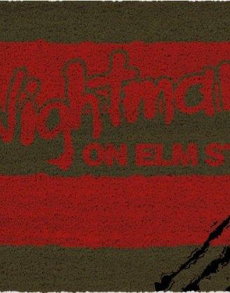 x_sdtwrn22764 Nightmare On Elm Street lábtörlő - Scratches 43 x 73 cm