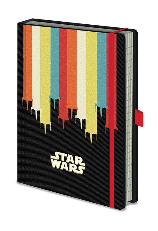 x_sr72795 Star Wars Premium A5 Jegyzetfüzet Nostalgia