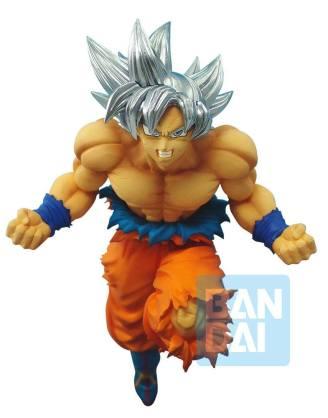 x_banp85189 Dragonball Super Z-Battle PVC Szobor - Ultra Instinct Son Goku 17 cm