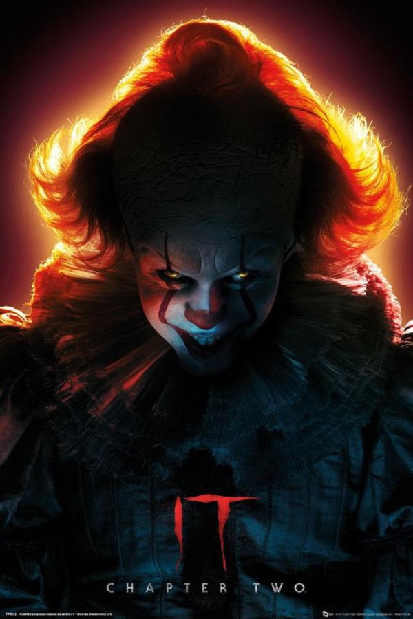x_gye-fp4872 It Chapter Two poszter - Pennywise 61 x 91 cm