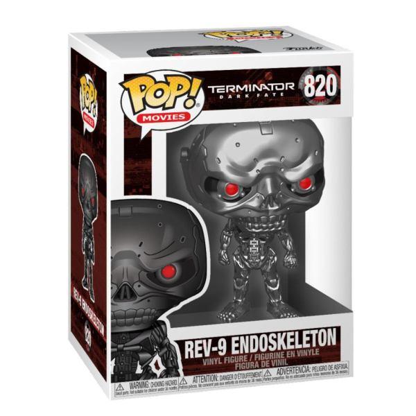 Terminator: Dark Fate POP! Movies Vinyl Figure REV-9 9 cm