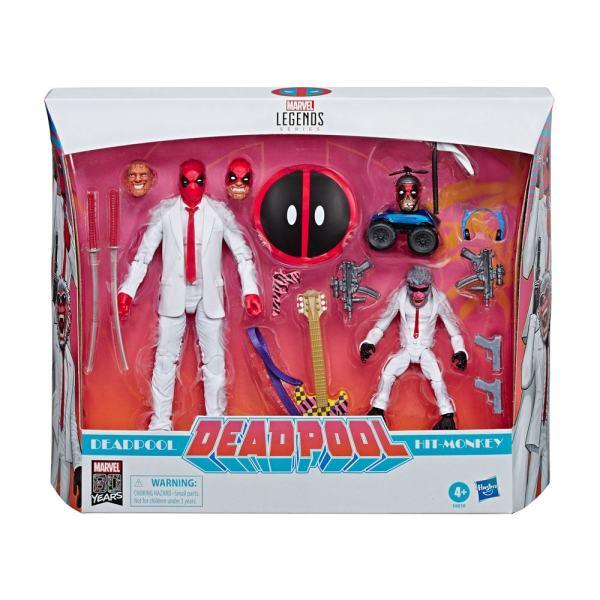 Marvel Legends Akciófigura 2-Pack - Deadpool & Hit-Monkey 8-15 cm