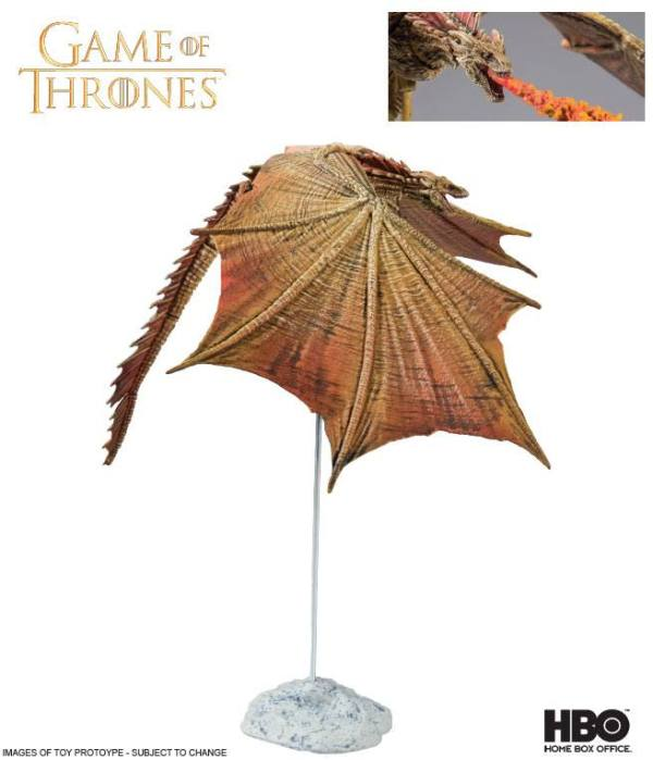 Game of Thrones / Trónok harca akciófigura - Viserion Ver. II 23 cm
