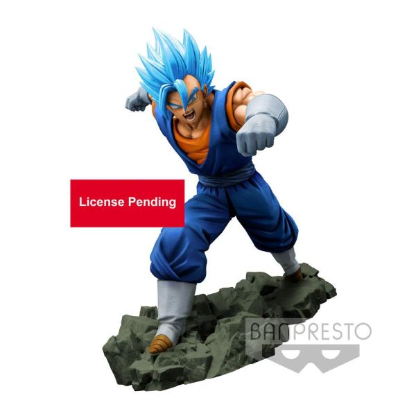 Dragon Ball Z Dokkan Battle PVC Szobor - Super Saiyan God Super Saiyan Vegetto 16 cm