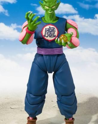 x_btn55784-1 Dragon Ball S.H. Figuarts Akciófigura - Demon King Piccolo (Daimao) Tamashii Web Exclusive 19 cm