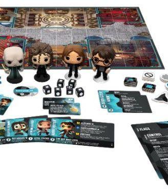Harry Potter Funkoverse társasjáték 4 Character Base Set *English Version*