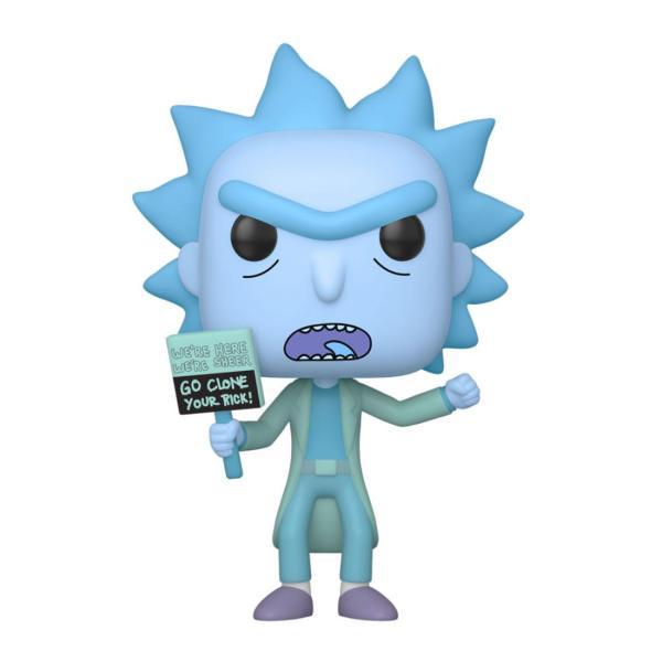 Rick and Morty Funko POP! figura - Hologram Rick Clone 9 cm
