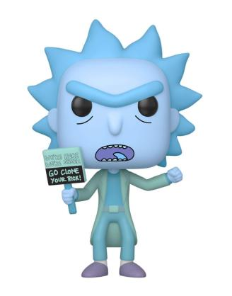 Rick and Morty Funko POP! figura - Hologram Rick Clone 9 cm