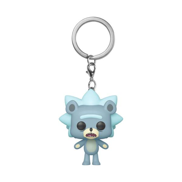 Rick and Morty Funko Pocket POP! kulcstartó - Teddy Rick 4 cm